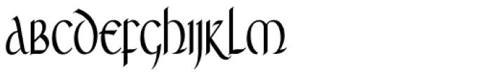 RM Celtic Condensed Font UPPERCASE
