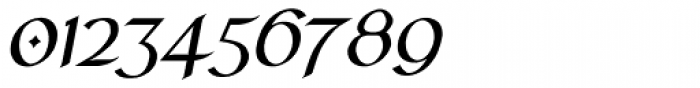 RM Celtic Italic Font OTHER CHARS