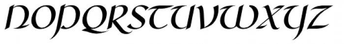 RM Celtic Italic Font UPPERCASE