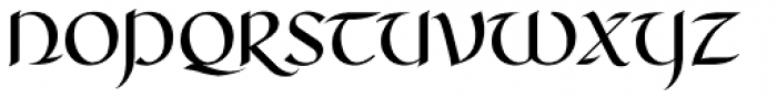 RM Celtic Regular Font UPPERCASE