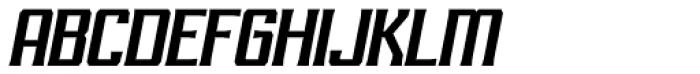 RM Imber Italic Font UPPERCASE