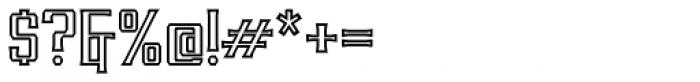 RM Imber Outline Regular Font OTHER CHARS