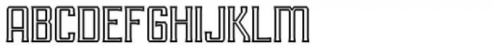 RM Imber Outline Regular Font LOWERCASE