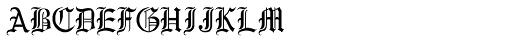RM New Albion Regular Font UPPERCASE