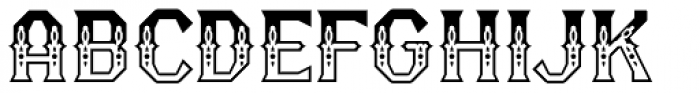 RM Serifancy Font UPPERCASE