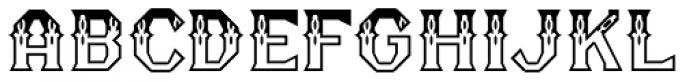 RM Serifancy Font LOWERCASE