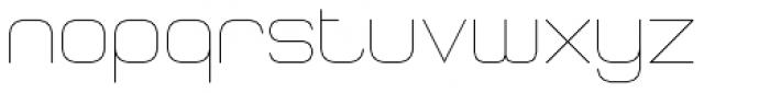 RM Squarial Regular Font LOWERCASE