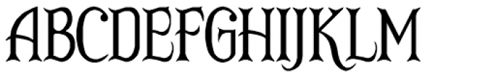 RM Victoriana Font UPPERCASE