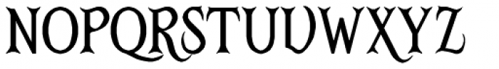 RM Victoriana Font LOWERCASE