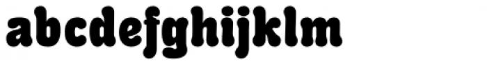 RMU Herkules Heavy Font LOWERCASE