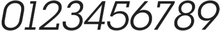 RNS Camelia Italic otf (400) Font OTHER CHARS