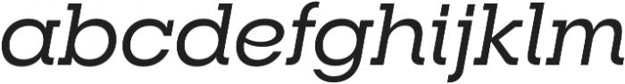 RNS Camelia Medium Italic otf (500) Font LOWERCASE