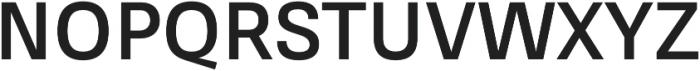 RNS Sisma Bold otf (700) Font UPPERCASE