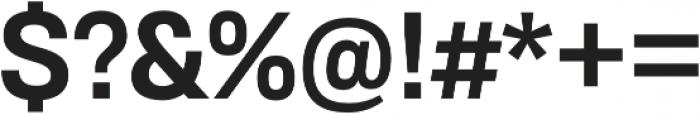RNS Sisma ExtraBold otf (700) Font OTHER CHARS