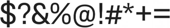 RNS Sisma Medium otf (500) Font OTHER CHARS