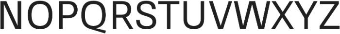 RNS Sisma Medium otf (500) Font UPPERCASE