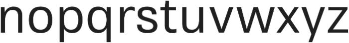 RNS Sisma Medium otf (500) Font LOWERCASE