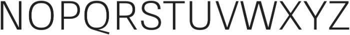 RNS Sisma otf (400) Font UPPERCASE