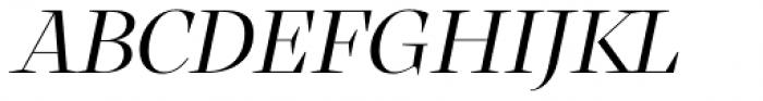RNS Atlante Italic Font UPPERCASE