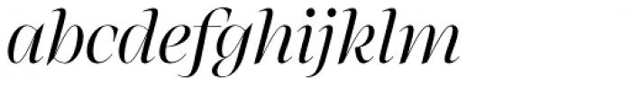 RNS Atlante Italic Font LOWERCASE