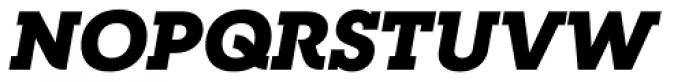 RNS Camelia Black Italic Font UPPERCASE