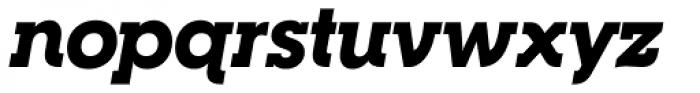 RNS Camelia Black Italic Font LOWERCASE