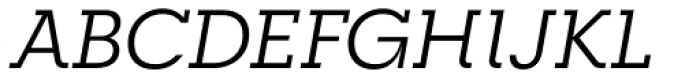 RNS Camelia Italic Font UPPERCASE