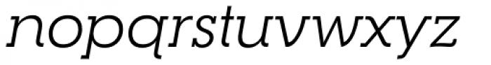 RNS Camelia Italic Font LOWERCASE