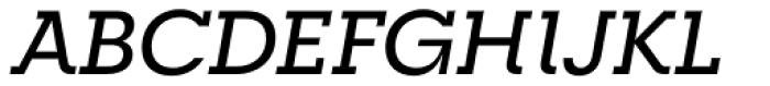 RNS Camelia Medium Italic Font UPPERCASE