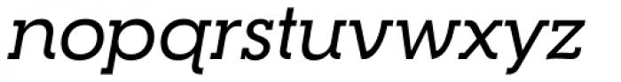 RNS Camelia Medium Italic Font LOWERCASE