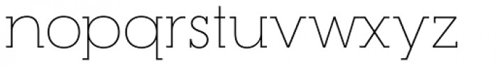 RNS Camelia Thin Font LOWERCASE