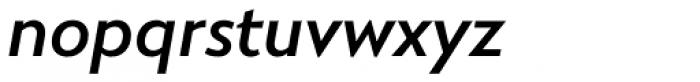 RNS Miles Bold Italic Font LOWERCASE