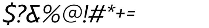 RNS Miles Medium Italic Font OTHER CHARS