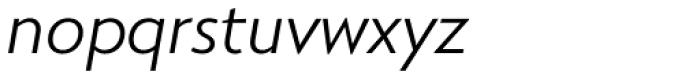 RNS Miles Regular Italic Font LOWERCASE