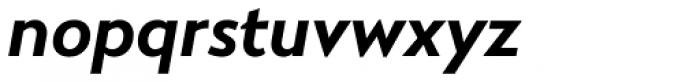 RNS Miles XBold Italic Font LOWERCASE