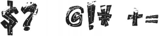 ROCK On RAWK SVG otf (400) Font OTHER CHARS