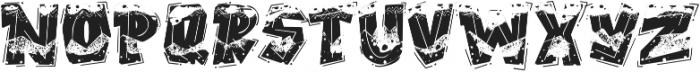ROCK On RAWK SVG otf (400) Font UPPERCASE