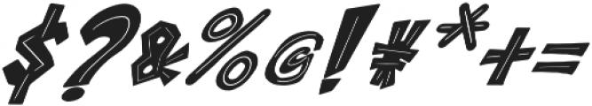 ROCK on RAWK Regular otf (400) Font OTHER CHARS