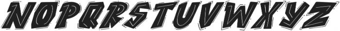 ROCK on RAWK Regular otf (400) Font UPPERCASE
