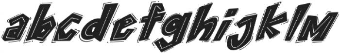 ROCK on RAWK Regular otf (400) Font LOWERCASE