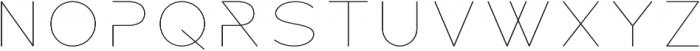 ROCKETWILDNESS otf (400) Font LOWERCASE