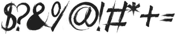 ROCKNROLL SUBTLE otf (400) Font OTHER CHARS