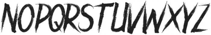 ROCKNROLL SUBTLE otf (400) Font UPPERCASE