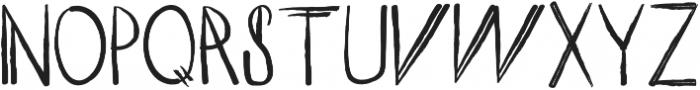 ROMY Regular otf (400) Font UPPERCASE
