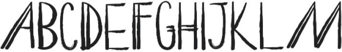 ROMY Regular otf (400) Font LOWERCASE
