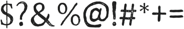 Road Race Stamp otf (400) Font OTHER CHARS