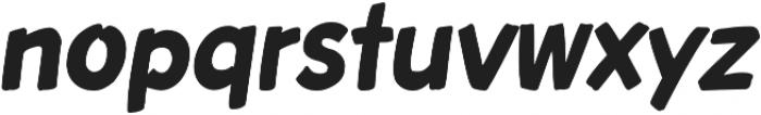 Roadbrush Italic otf (400) Font LOWERCASE