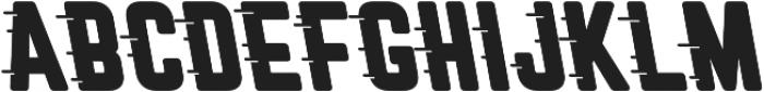 Roadstar Cursive otf (400) Font UPPERCASE