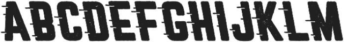 Roadstar Rugged Cursive otf (400) Font UPPERCASE