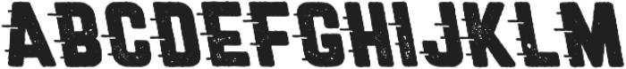 Roadstar Rugged Cursive otf (400) Font LOWERCASE